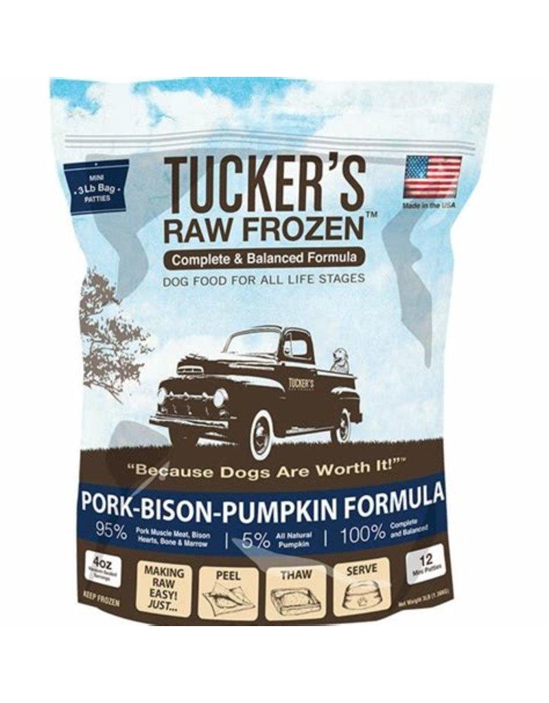 Tucker's Frozen Pork Bison & Pumpkin