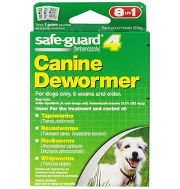 8 in 1 SafeGuard 4 Canine Dewormer