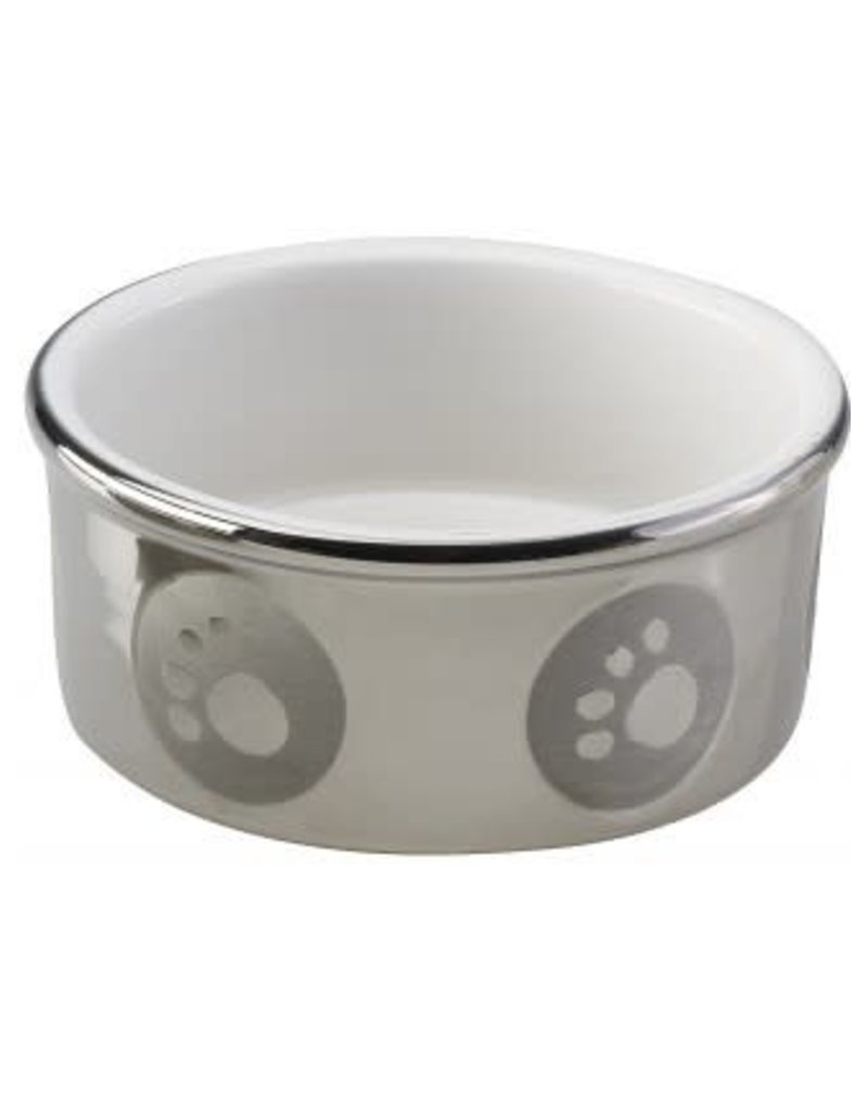 Ethical Pet - Spot Titanium Paw Print Dish