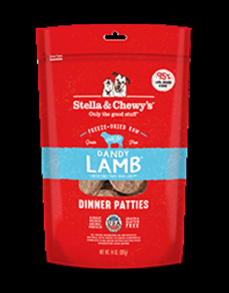 Stella & Chewy's Dandy Lamb Freeze-Dried Raw Dinner Patties