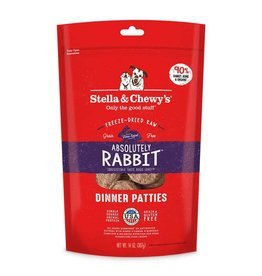Stella & Chewy's Absolutely Rabbit Dinner Patties 14oz