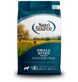 NutriSource Cahicken & Rice Small Bites