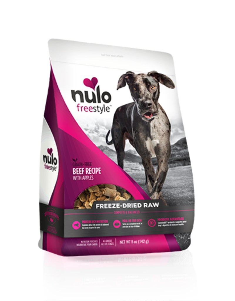 Nulo Nulo Freestyle Freeze-Dried Beef & Apples