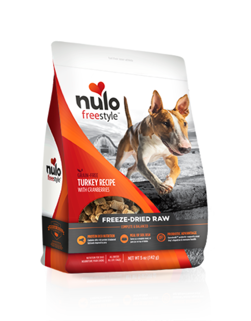 Nulo Nulo Freestyle Freeze-Dried Turkey & Cranberries