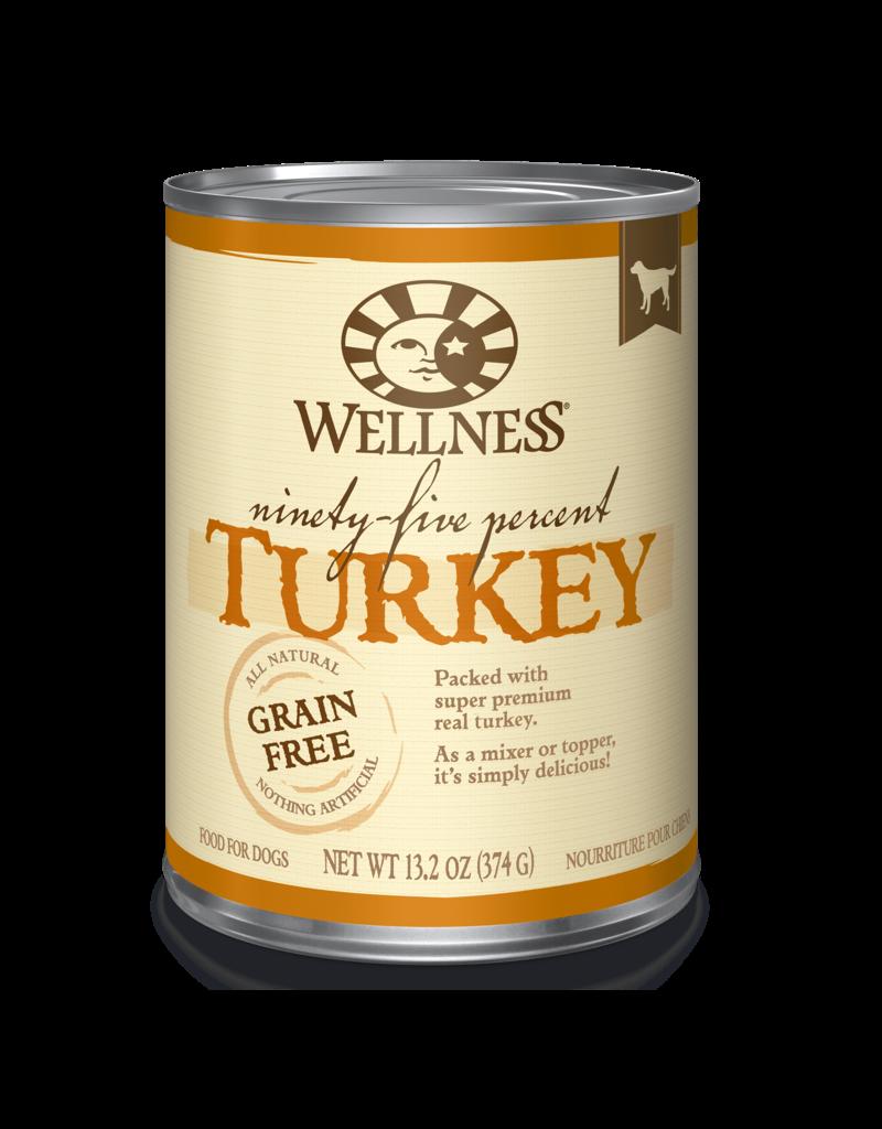 Wellness 95% Turkey 13.2oz