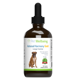 Pet Wellbeing Adrenal Harmony Gold 2oz