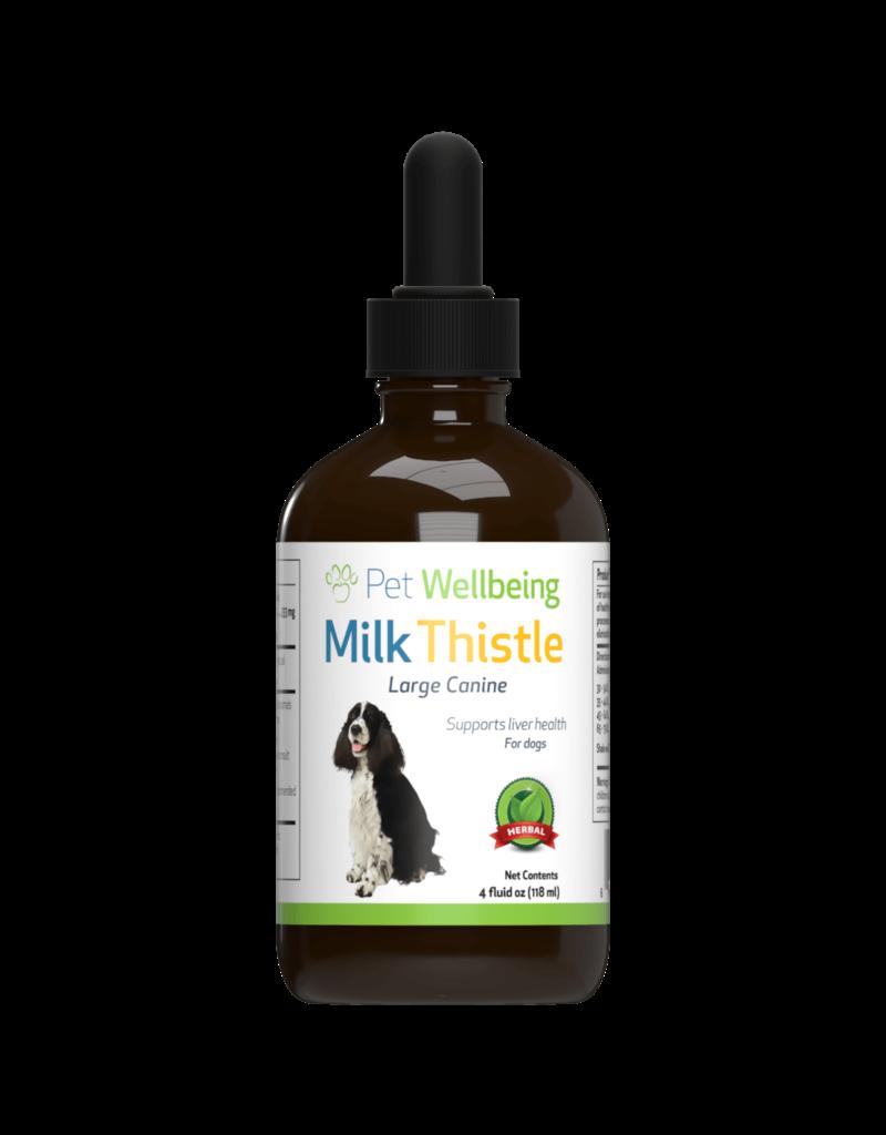 Pet Wellbeing Milk Thistle 2oz
