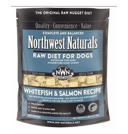 Northwest Naturals Frozen Whitefish & Salmon Nuggets 6lb