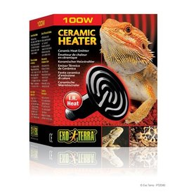 Exo-Terra Ceramic Heater, 100W, 110V