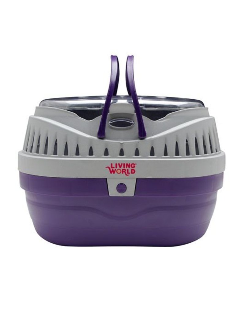 Living World Carrier Small Purple