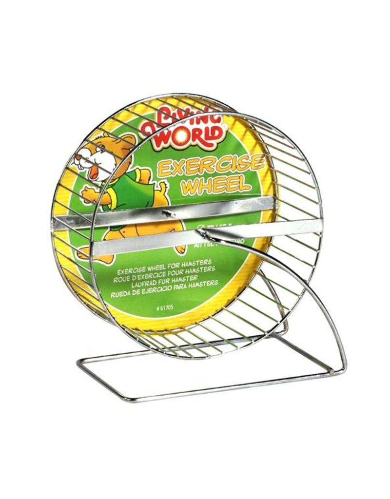 Living World Chrome Plated Hamster Wheel 7""