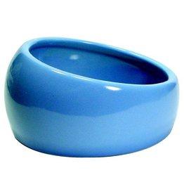 Living World Ergonomic Dish, Blue Small