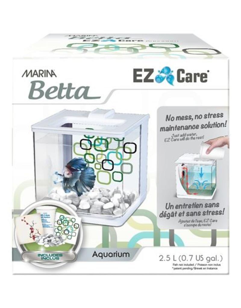 Marina EZ Care Betta Aquarium White