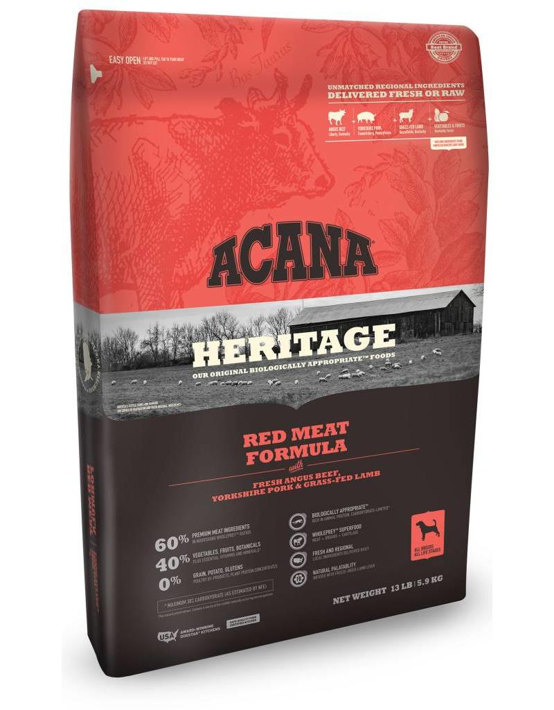 Acana Heritage Red Meat 12oz