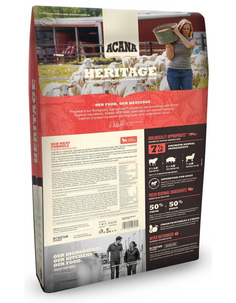 Acana Heritage Red Meat 4.5lb
