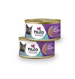Nulo Cat & Kitten Minced Beef & Mackerel Recipe in Gravy 3oz