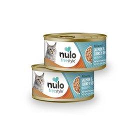 Nulo Cat & Kitten Minced Salmon & Turkey Recipe in Gravy 3oz