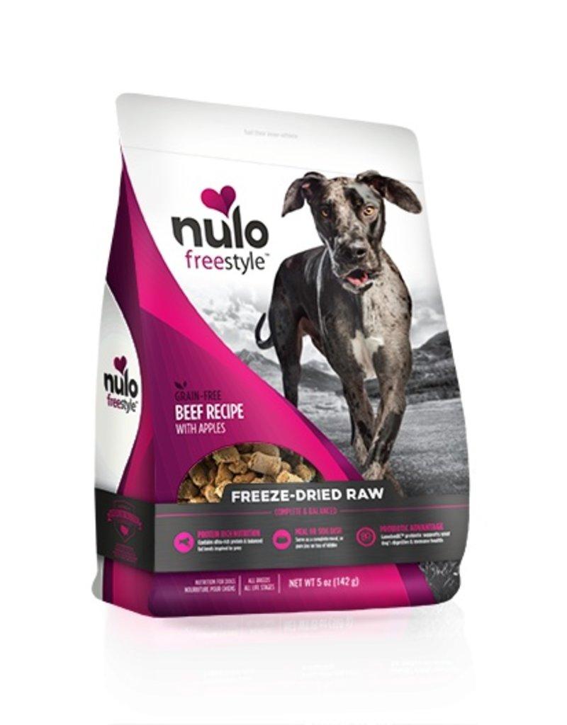 Nulo Freestyle Freeze Dried Raw Beef & Apple 5oz