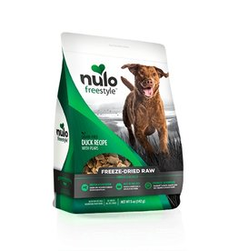 Nulo Freestyle Freeze Dried Raw Duck & Pear 5oz