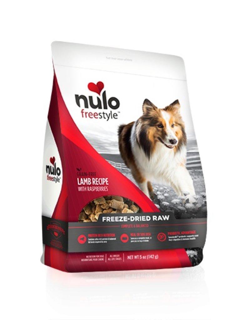 Nulo Freestyle Freeze Dried Raw Lamb & Raspberry 5oz