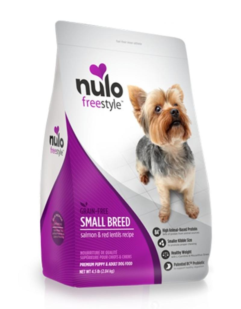 Nulo Freestyle Small Breed Salmon & Red Lentils 4.5lb