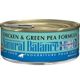 Natural Balance Cat Chicken & Green Pea LID Can 5.5oz