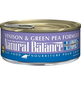Natural Balance Cat Can Venison and Green Pea 3oz