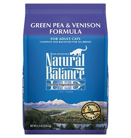 Natural Balance Cat Green Pea & Venison LID 4.5lb