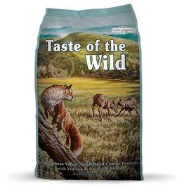 Taste of the Wild Appalachian Valley Small Breed Canine Formula with Venison & Garbanzo Beans 5LB