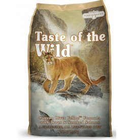 Taste of the Wild Canyon River Feline Formula with Trout & Smoked Salmon 15LB