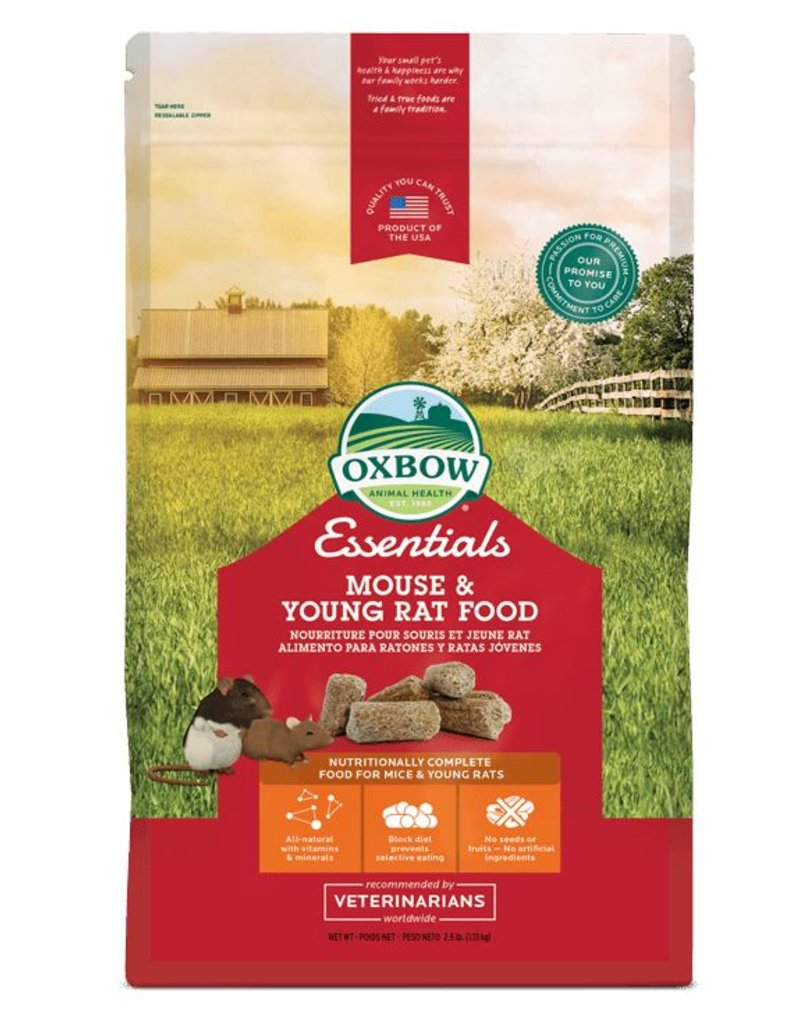 Oxbow Essentials Mouse & Young Rat Food 2.5lb