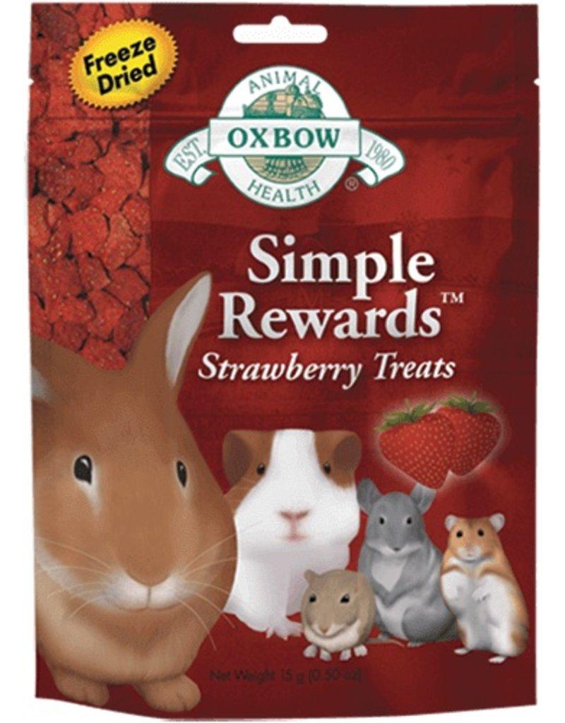 Oxbow Simple Rewards Strawberry Treats .5oz