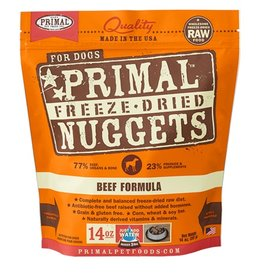 Primal Canine Freeze-Dried Raw Nuggets Beef 14oz