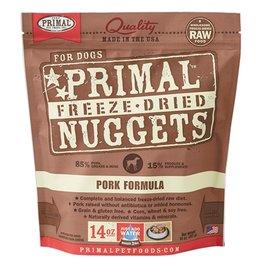 Primal Canine Freeze-Dried Raw Nuggets Pork 14oz
