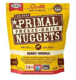 Primal Canine Freeze-Dried Raw Nuggets Rabbit 14oz