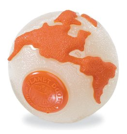 Planet Dog Orbee-Tuff Planet Ball Large Orange