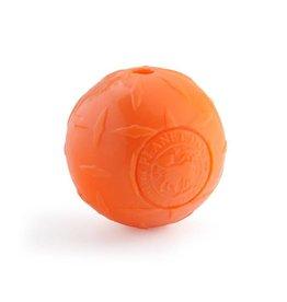 Planet Dog Diamond Plate Ball 3in Orange