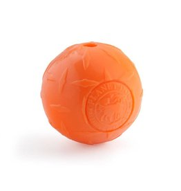 Planet Dog Diamond Plate Ball 4in Orange