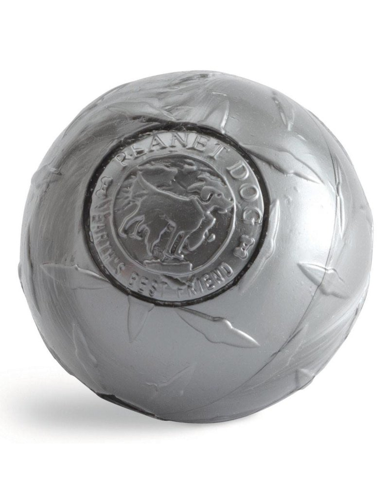 Planet Dog Orbee-Tuff Diamond Plate Ball Large Steel