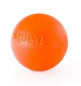 Planet Dog Orbee-Tuff Squeak Ball Orange Medium