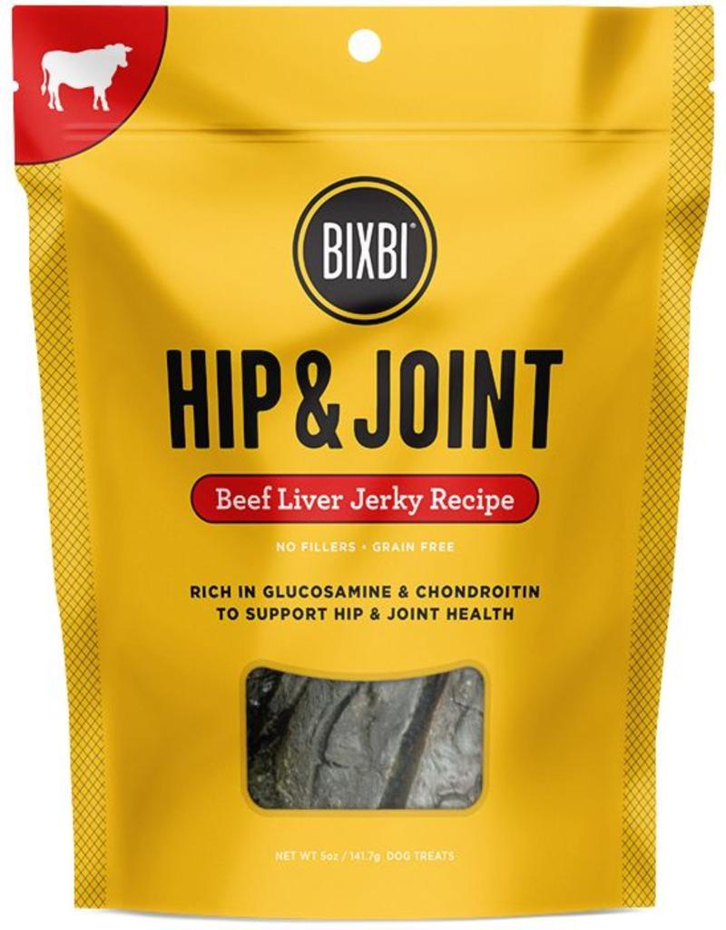 Bixbi Hip & Joint Beef Liver Jerky 12oz
