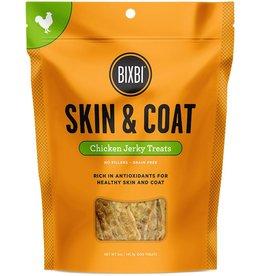 Bixbi Dog Treat Jerky Skin & Coat Chicken 12oz