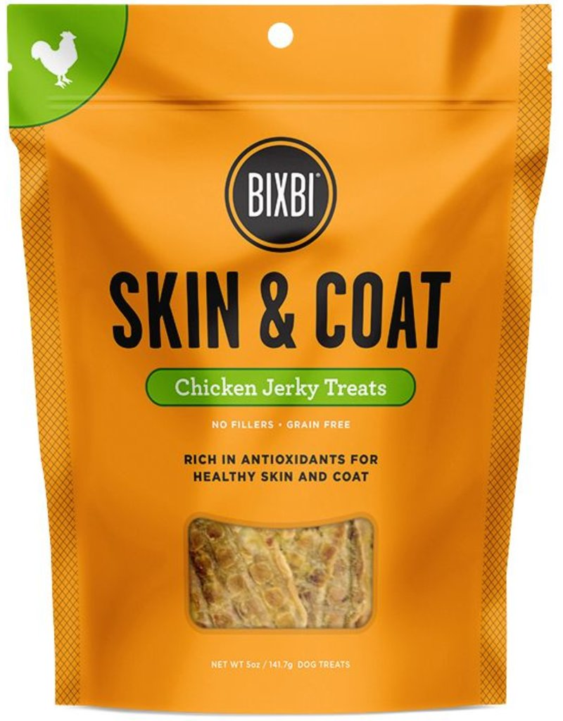Bixbi Skin & Coat Chicken Jerky 12oz