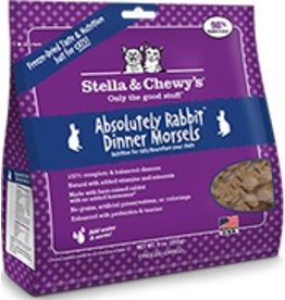 Stella & Chewy's Absoulutely Rabbit Freeze Dried Morsels, 3.5 oz