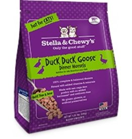 Stella & Chewy's Duck Duck Goose Frozen Morsels, 1.25lb