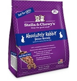 Stella & Chewy's Absolutely Rabbit Frozen Morsels, 1lb