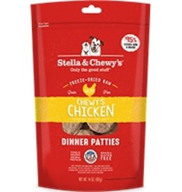 Stella & Chewy's Chewy's Chicken Freeze-Dried Raw Dinner Patties 14oz
