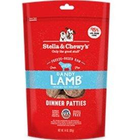 Stella & Chewy's Dandy Lamb Freeze-Dried Raw Dinner Patties 14oz