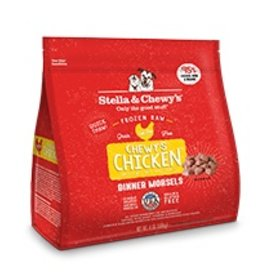 Stella & Chewy's Chewy's Chicken Frozen Raw Dinner Morsels 4lb