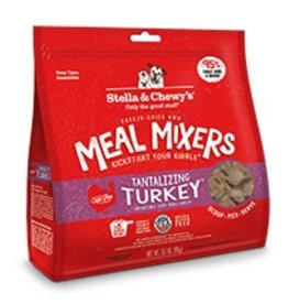 Stella & Chewy's Tantalizing Turkey Freeze-Dried Raw Meal Mixers 18oz